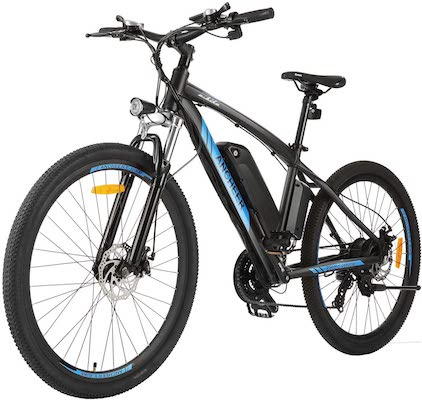 ANCHEER 350:500W Electric 27.5'' Mountain Bike