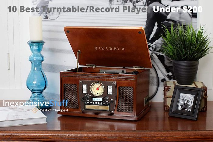 Best Turntable/Record Player Under $200 Review