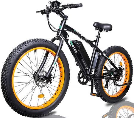 "COTRIC Electric Powerful Bicycle 26"" Fat Tire"