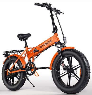 ENGWE 500W 20 inch Fat Tire Electric Bicycle Mountain