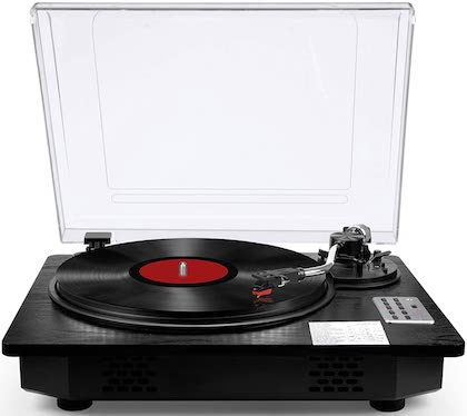 Vinyl Record Player Turntable with Bluetooth