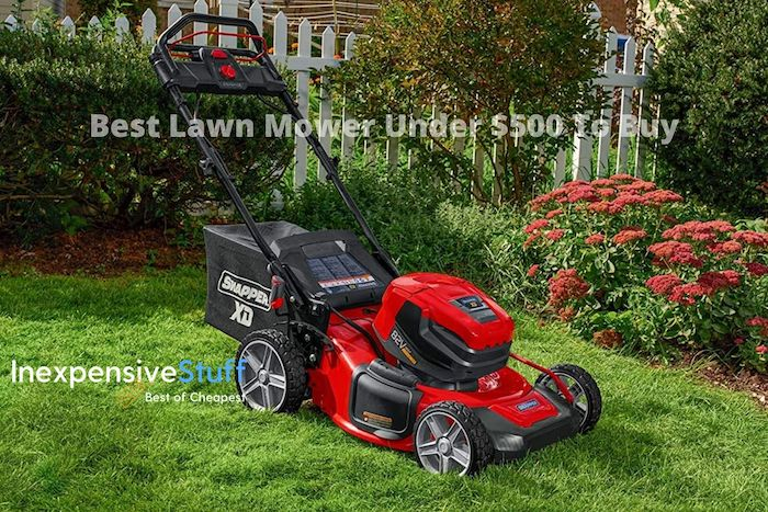 Best Lawn Mower Under $500 Review