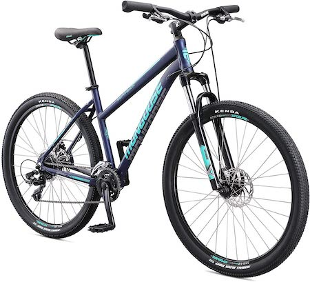 Mongoose Switchback Adult Mountain Bike, 8-21 Speeds, 27.5-Inch Wheels