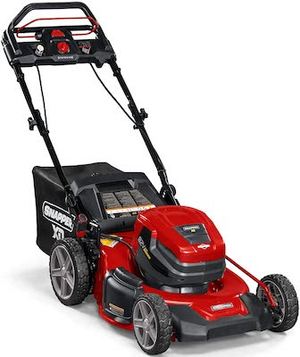 Snapper XD 82V MAX Step Sense Cordless Electric 21-Inch Lawn Mower, Battery